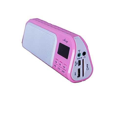 Pocket FM Radio - Pink