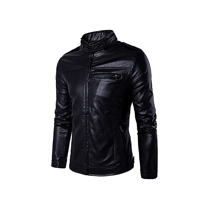 Buy Yingwoo 100% Leather Spring Men's Genuine Leather Plus ...