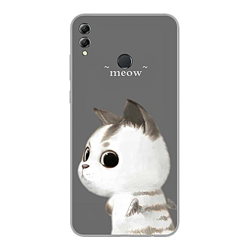 Cartoon Case For Honor 8X Case Cover For Huawei Honor 8X Cover Soft Full  Bumper Cute Anime Casing 178378 c-6 (Color:Main Picture)