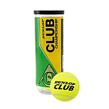 Club Championship Tennis Balls - Yellow