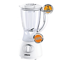 ABL-722SX - Blender - 1.5 Litres - 4 Speed with Pulse - Blender - 350W - White & Silver