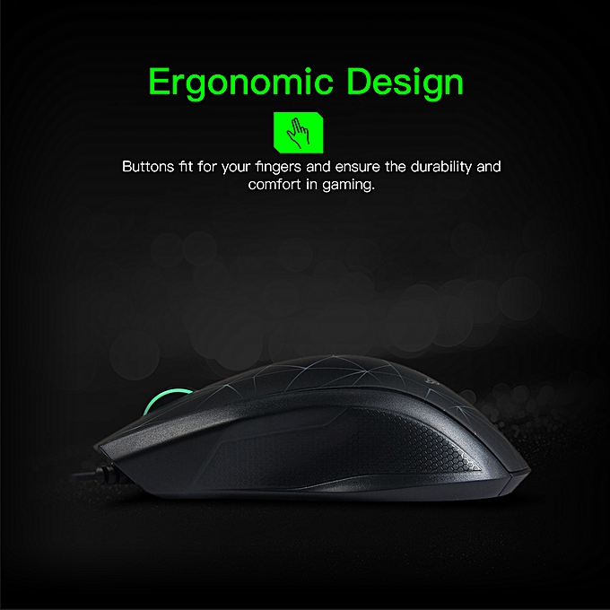427116dd9f1 ... Razer Taipan 3500DPI Gaming Mouse USB Wired Ergonomic PC Gamer Mouse  Ambidextrous 3 LED Backlights Black