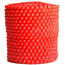Artisan Candle 3-in-1 Red Pearl Pillar - 300g