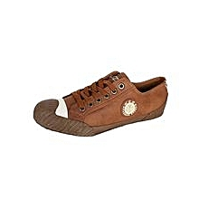 Brown Rubber Sneakers