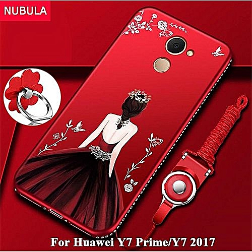 check out bf720 8ff4d Back Cover For Huawei Y7 Prime / For Huawei Y7 2017 Pretty Diamond  Ultra-thin TPU Protection Phone Case Shockproof Case