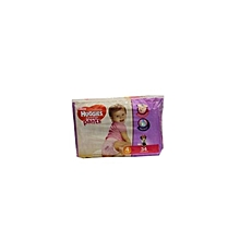Nappy Pants Girl Size 4 9-14 kg 34 Pieces