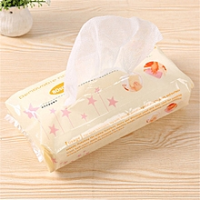 Kitchen Environmental One-off Removable Non-woven Cloth No-wash Duster Cloth (Beige)