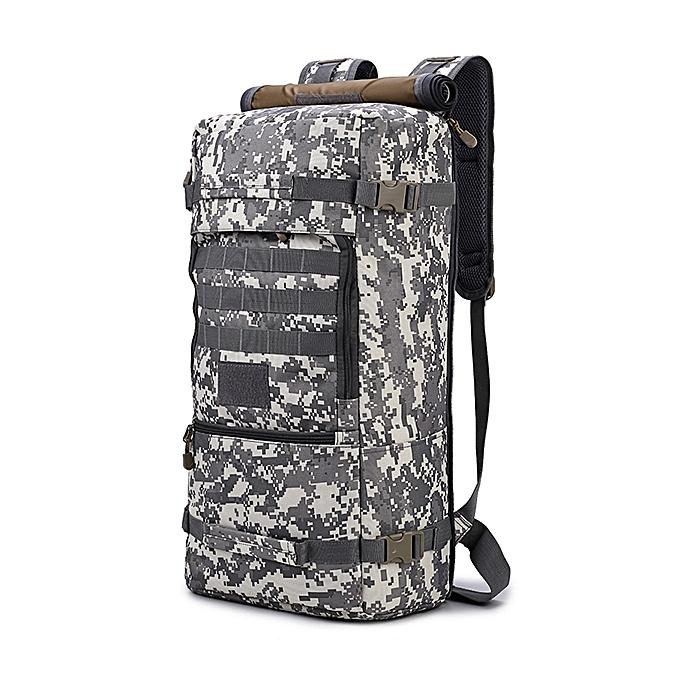 d49cb7b73a 50L Multi-functional Large Capacity Waterproof Travel Climbing Handbag  Backpack