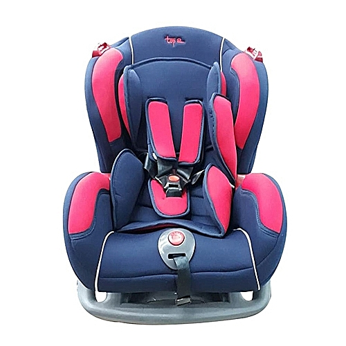 Big Infant Car Seat With A Reclining Base Blue Red 0 7