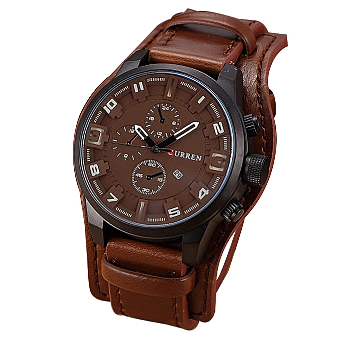 01363c653 CURREN Men Watches Man Clock 2017 Top Brand Luxury Army Military Steampunk  Sports Male Quartz-Watch Men Hodinky Relojes Hombre