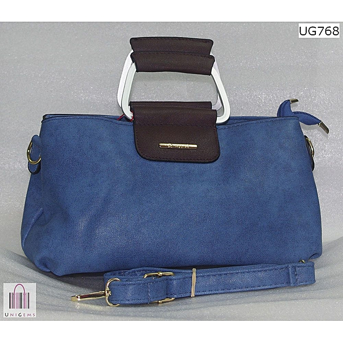 3a1f76a3985b Apples Blue Double compartment Clutch bag. @ Best Price | Jumia Kenya