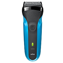 Series 3 310s - Cordless Electric Razor for Men / Electric Shaver, Rechargeable, Wet & Dry – Blue