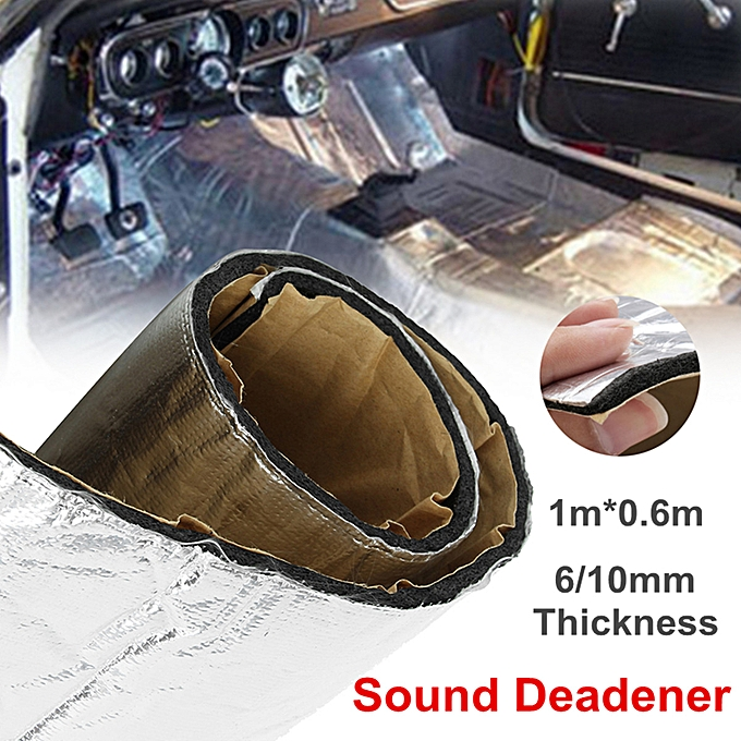 Firewall Sound Deadener Car Heat Shield Insulation Deadening Material Mat #  10mm