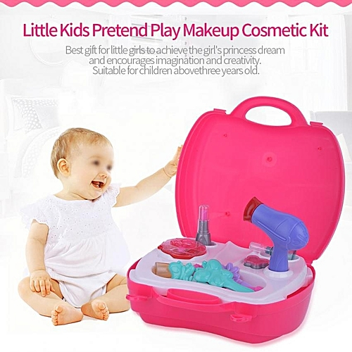 universal little girls kids pretend play makeup dressing cosmetic