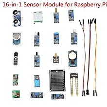 16-in-1 Sensor Module Starter Learning Kit For Raspberry Pi
