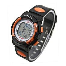 Girl Boy LED Light Wrist Watch Alarm Date Digital Multifunction Sport OR