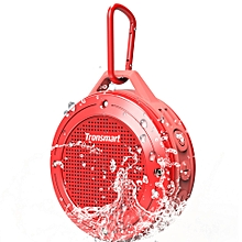 Tronsmart Element T4 5W Portable Bluetooth Speaker [IP67 Waterproof] with Enhanced Bass and Built-in Microphone-Red LBQ
