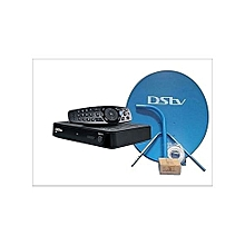 HD Complete KIT - HD Decoder (Model 5S) - Black + Dish + 1 Month Compact Subscription