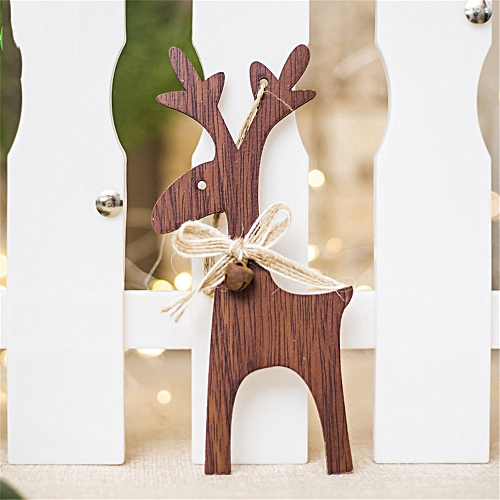 Buy Generic Jummoon Shop 1pcs Christmas Deer Wooden Xmas Tree