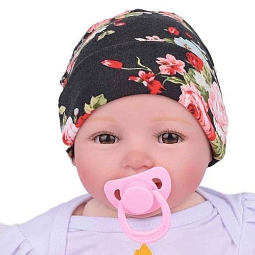 Eissely Newborn Hospital Hat Newborn Baby Hats With Flower Bowknot Flower  Hat 821044b06a4