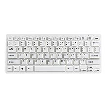 Luxury Ultra Slim 903 Mini 2.4G Wireless Keyboard Mouse Kit For PC Laptop White