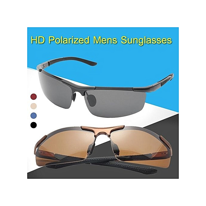 2e0e4f5df5e HD Night Vision Men Polarized Glasses Mens Eyewear Driving Sunglasses UV400