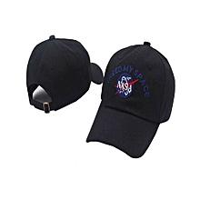 NASA I Need My Space Baseball Cap Adjustable Snapback Hat For Men Women - Black
