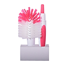 Bottle & Teat Brush - Pink