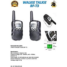 Baofeng T3 BF-T3 BFT3 1 Pair Walkie Talkie Portable Handheld Dual Band Two-Way Radio