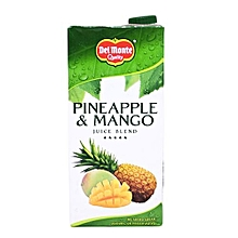 Pineapple & Mango Juice Blend - 1 Litre