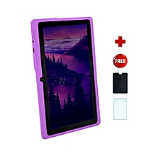 Q75S Tablet - 7 inch, 8GB, 512MB RAM, WiFi, Purple + free screen protector + pounch