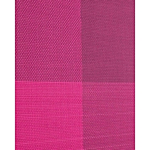 Table Mat - 45cm x 32cm - 6Pcs - Wine Red and Red