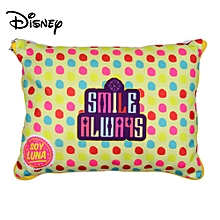 SOY LUNA Folding Disney Cute Cotton Pillow, Colorful Decorative Sleep Pillow With Pen And Notebook