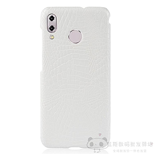 For Asus Zenfone 5 ZE620KL Case Luxury Crocodile Leather Skin SLIM  Protective Hard Cases (White)