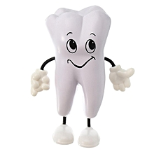 Dentistry PU dental doll cute smiling face pressure relief doll simulation doll repeatedly knead not to break the toy