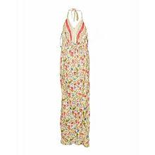 Multicolored Floral Maxi Dress
