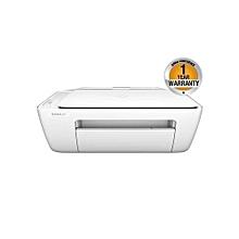 DeskJet 2130 All-in-One Printer - 123 Cartridge - White
