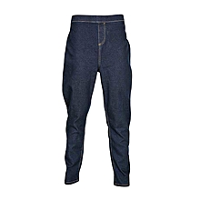 Dark Blue Pull On Jeggings