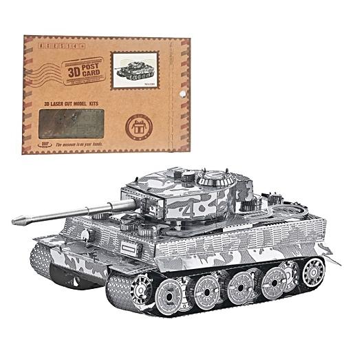 3D Funny Model Kits 3D Metal Puzzle DIY Metal Kit Toys Tank Puzzles