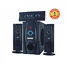MP-3319 Multimedia Speaker System 3.1 with Bluetooth And FM Radio Black 8000W