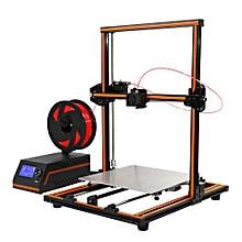 Anet® E12 3D Printer DIY Kit 300*300*400mm Printing Size Aluminium Alloy Frame 1.75mm 0.4mm Nozzle EU PLUG