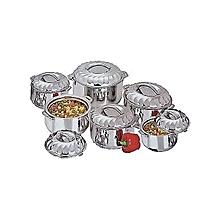 6 Pcs Hot Pots for Food Service