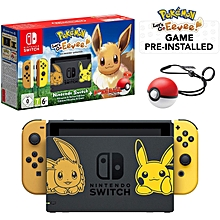 Switch Console Pokemon Lets Go Eevee + Pokeball Plus Controller