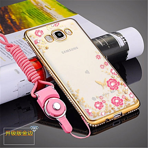 ... UNIVERSAL Rhinestone Phone Case Cover Holder Stand Protective Ultra thin Silicone Soft Case For Samsung Galaxy