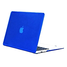 """11"""" Air Case, Crystal Hard Rubberized Cover For Macbook 11.6 Inch, Dark Blue"""