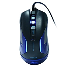 E - 3LUE M - 668 USB Wired LED Flashing Professional Game Mouse
