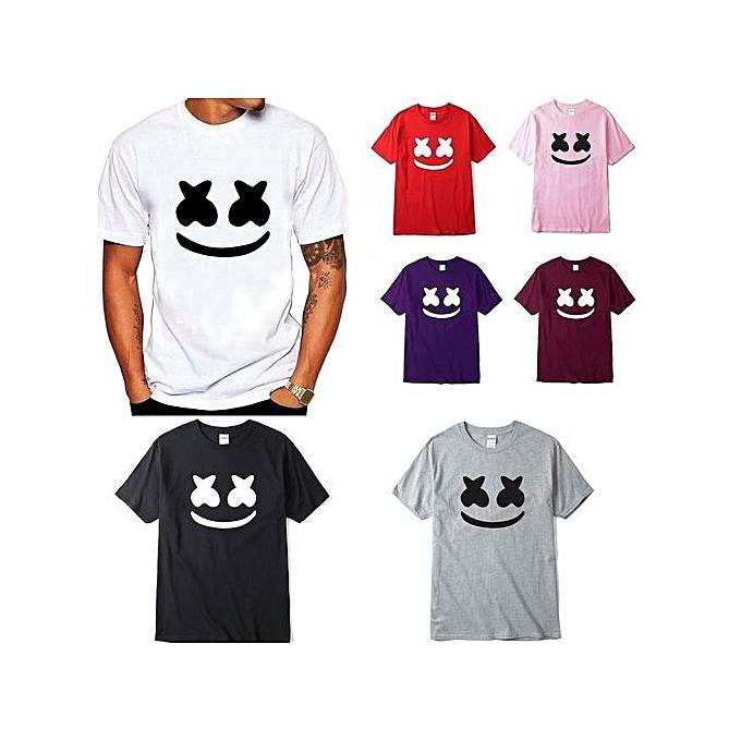 d3ef8631cca Generic Men s Marshmello T-shirt Tee DJ Mellow Dance Edm House Music ...