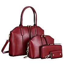 Fashion Women Handbag Shoulder Bag Leather Messenger Bag Satchel Tote Purse