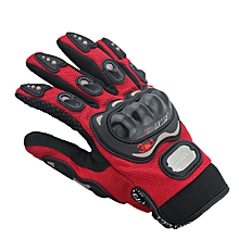 Koaisd Leather Racing Glove Motorcycle G Love Cross-country Riding Gloves