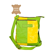 Green / Yellow Front Pocket Body Bag